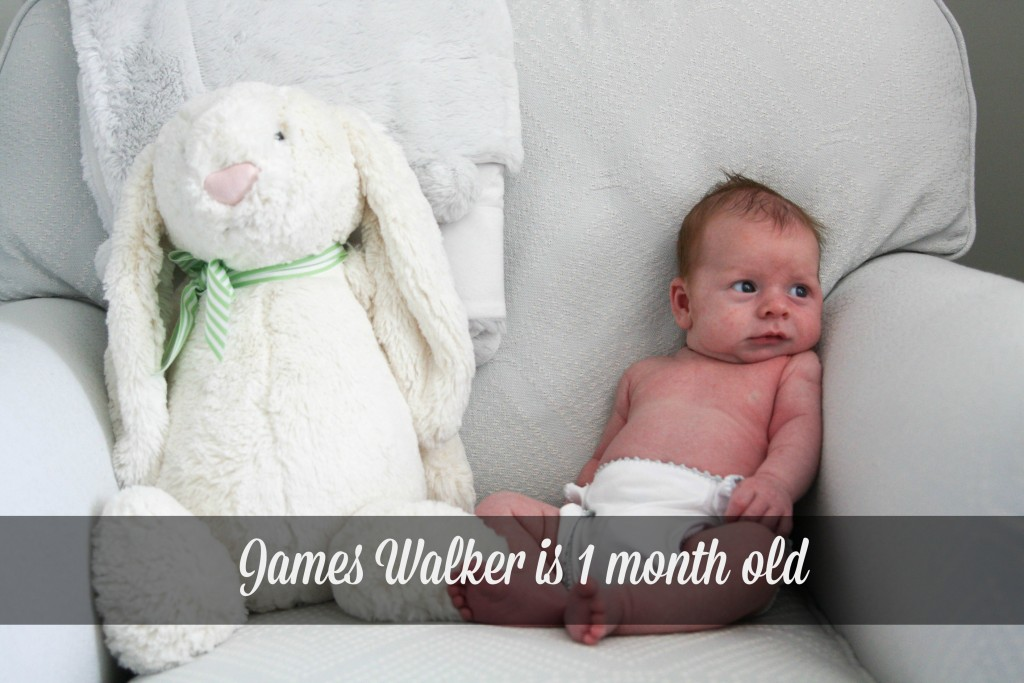James Walker 1 Month